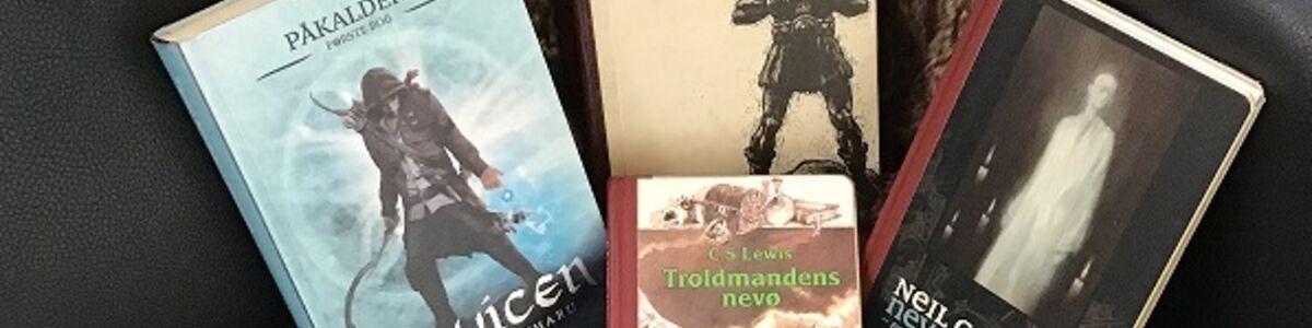 4 fantasybøger