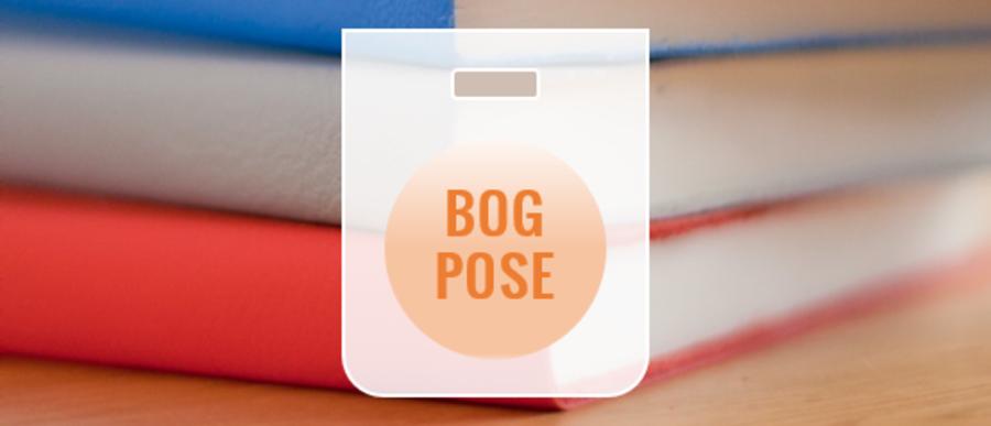 bøger og plastikpose