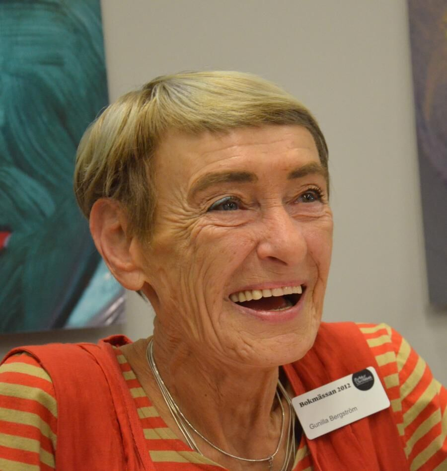 Forfatteren Gunilla Bergström