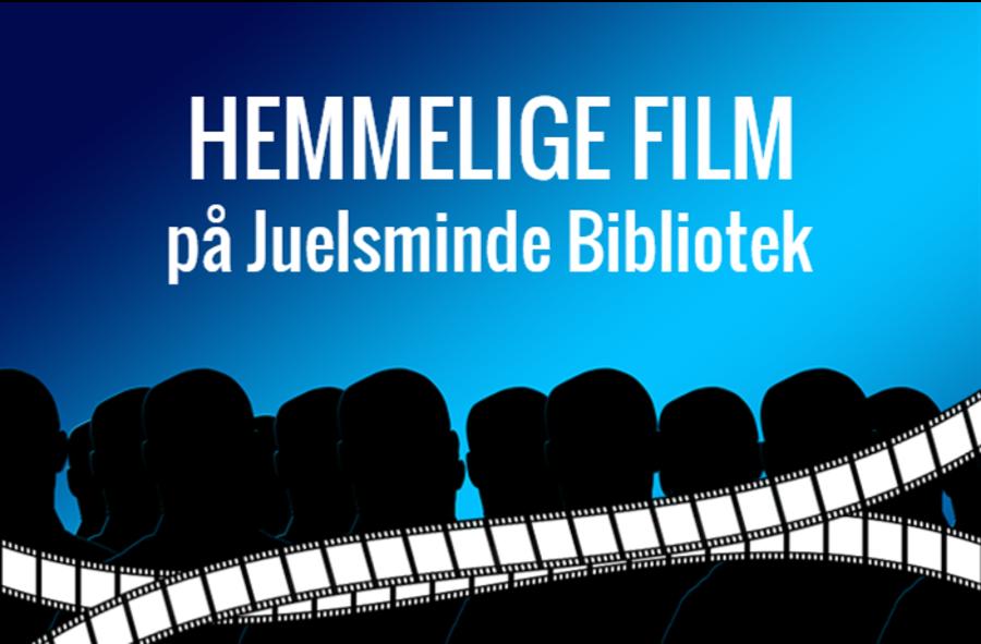 Logo for Hemmelige film på Juelsminde Bibliotek
