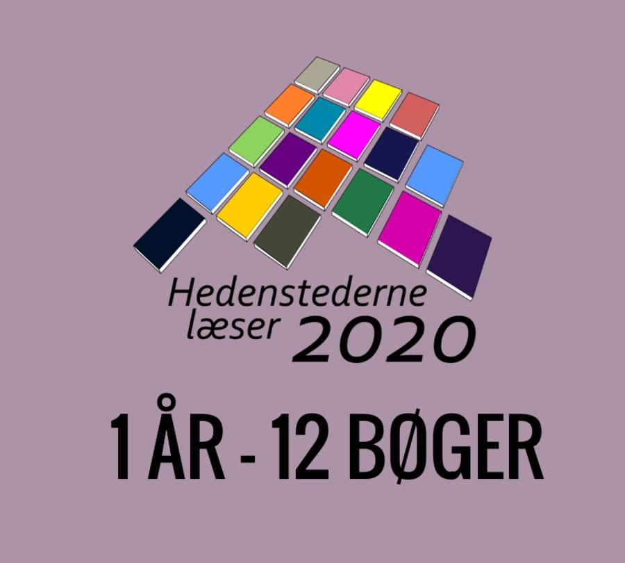 Logo, Hedenstederne læser 2020