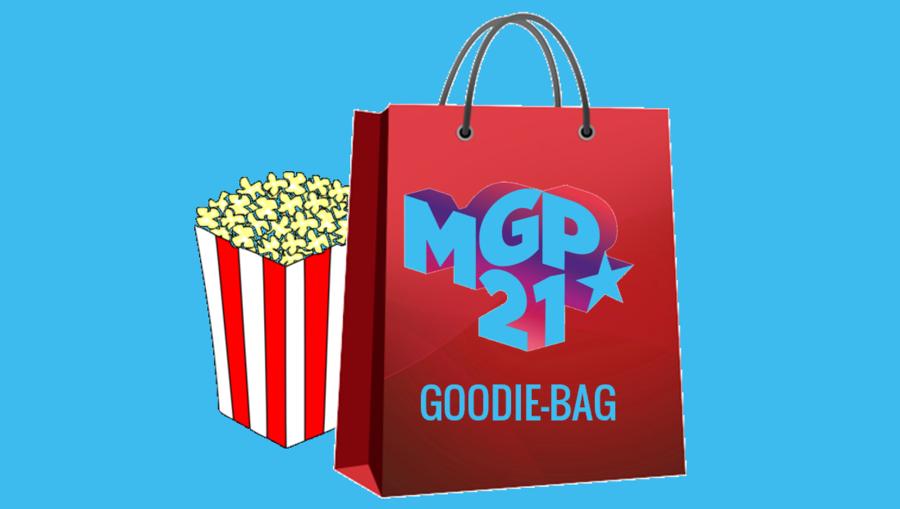Goodiebag med MGP-logo