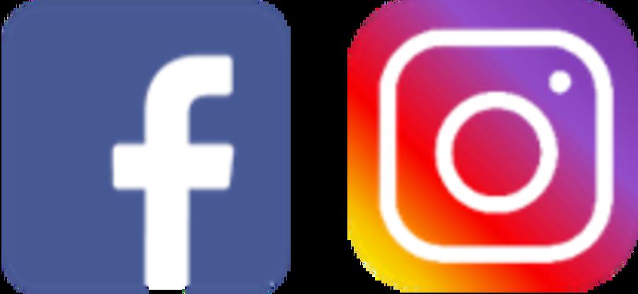 Facebooklogo, Instagramlogo