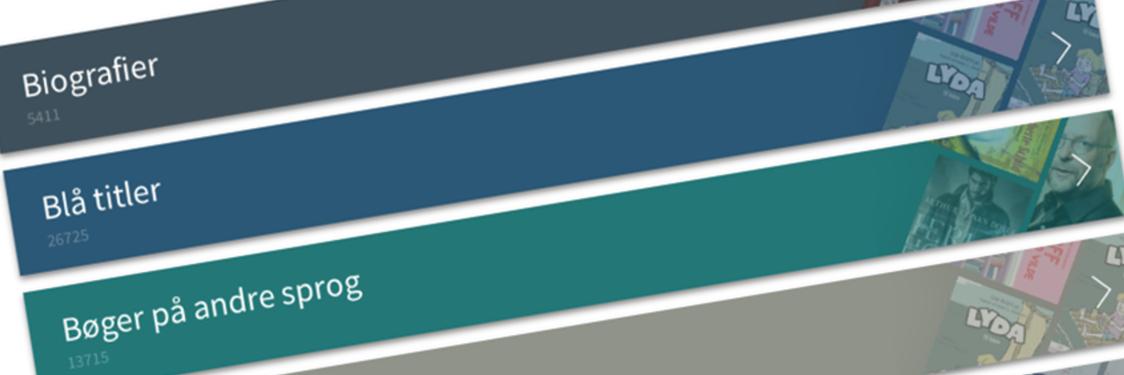 Blå titler fra eReolen