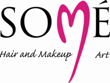 Logo for SOME Hair and Makeup Art